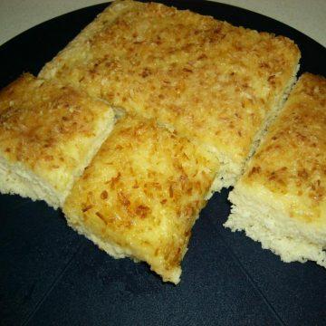schnelle buttermilchschnitten – omas kochrezepte